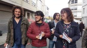 Iván Olmos, candidato ao Congreso de En Marea por Ourense, en Trives