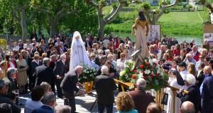 Procesión do Domingo de Resurrección no Barco