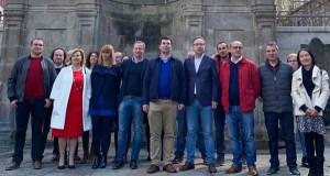 O PSdeG-PSOE presenta as súas candidaturas en Ourense ás eleccións xerais