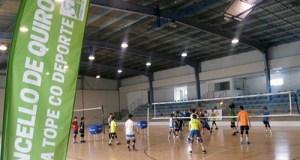 Concentracións de voleibol de Semana Santa en Quiroga