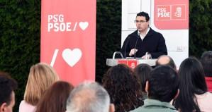 """Pablo Salgado: """"Imos apostar polo rural, por investimentos sostibles, polo turismo"""""""