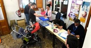 Medra a participación na provincia de Ourense nas eleccións