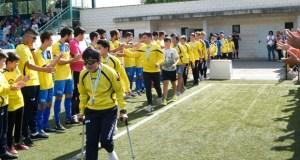 O CD Rúa cae ante o Leiro, nun partido con homenaxe ao equipo infantil como campión da Copa Deputación