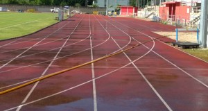 As pistas de Calabagueiros en perfectas condicións para acoller o galego de clubs base