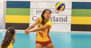 A quiroguesa Carolina Camino, convocada pola Selección Absoluta Española de Voleibol