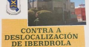 """Concentración o 7 de maio na Rúa """"contra a deslocalización de Iberdrola"""""""