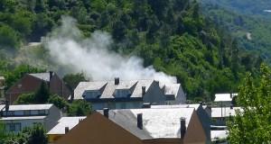 Susto en Viloira (O Barco) por un incendio