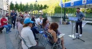 """O BNG do Barco celebra as Letras Galegas con poesía e defende """"outra forma de facer cultura"""" neste concello"""