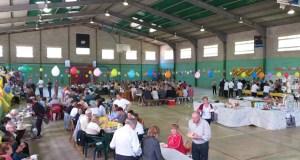 O xantar de Manos Unidas en Rubiá reúne a unhas 450 persoas