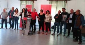 Preséntase a candidatura socialista ás eleccións municipais na Mezquita