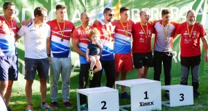 Ouro e prata para o Fluvial Barco na Copa España clásica por patrullas de augas bravas