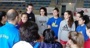 A final do campionato galego cadete feminino de voleibol xogarase o 12 de maio en Quiroga