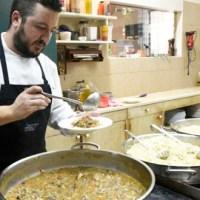 """Anxo Trives, do Restaurante La Viuda, premio """"Touch Blanche, Gorro Blanco"""""""