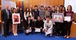 Alumnos do IES nº1 do Carballiño, premiados no VI Concurso de Curtas sobre doazón e transplantes