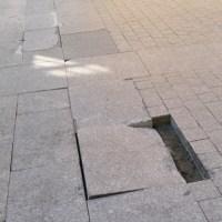 O Concello do Barco buscará solucións aos problemas do pavimento e das filtracións de auga no casco antigo