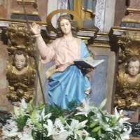 O barrio de Xeadre (Rubiá) celebra a Santa Mariña