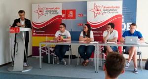 Xurxo Doval, novo coordinador provincial de Ourense das Xuventudes Socialistas de Galicia