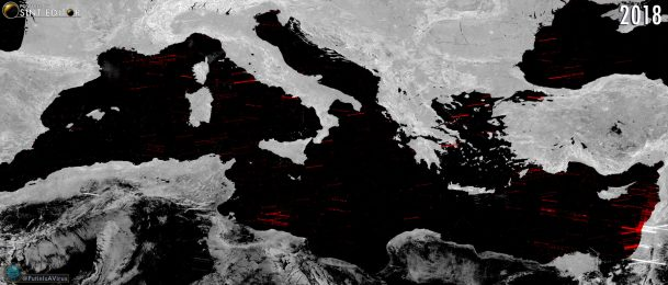 SENTINEL-1 and The Mediterranean Sea