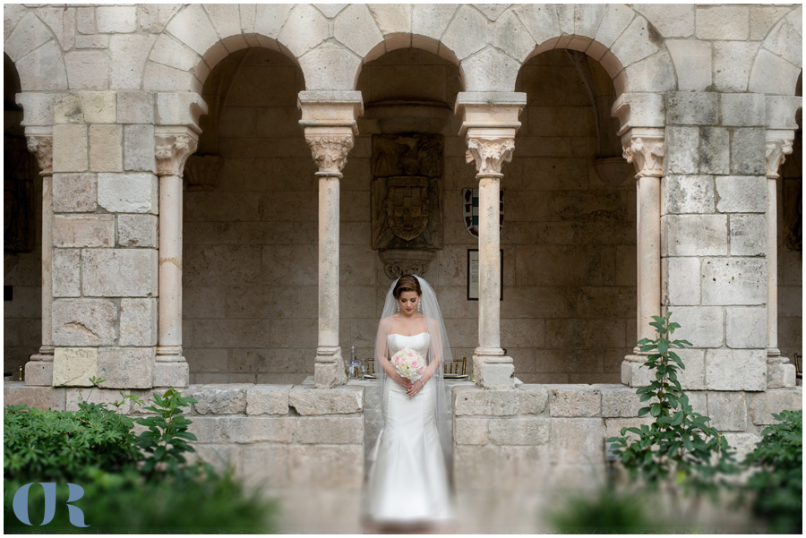 Ancient Spanish Monastery Wedding Photography
