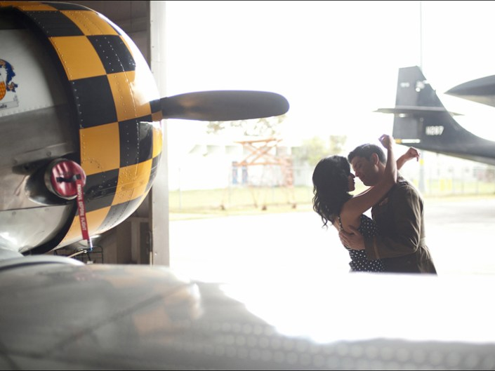 VINTAGE AIRPLANE ENGAGEMENT SHOOT | MIAMI ENGAGEMENT PHOTOGRAPHY