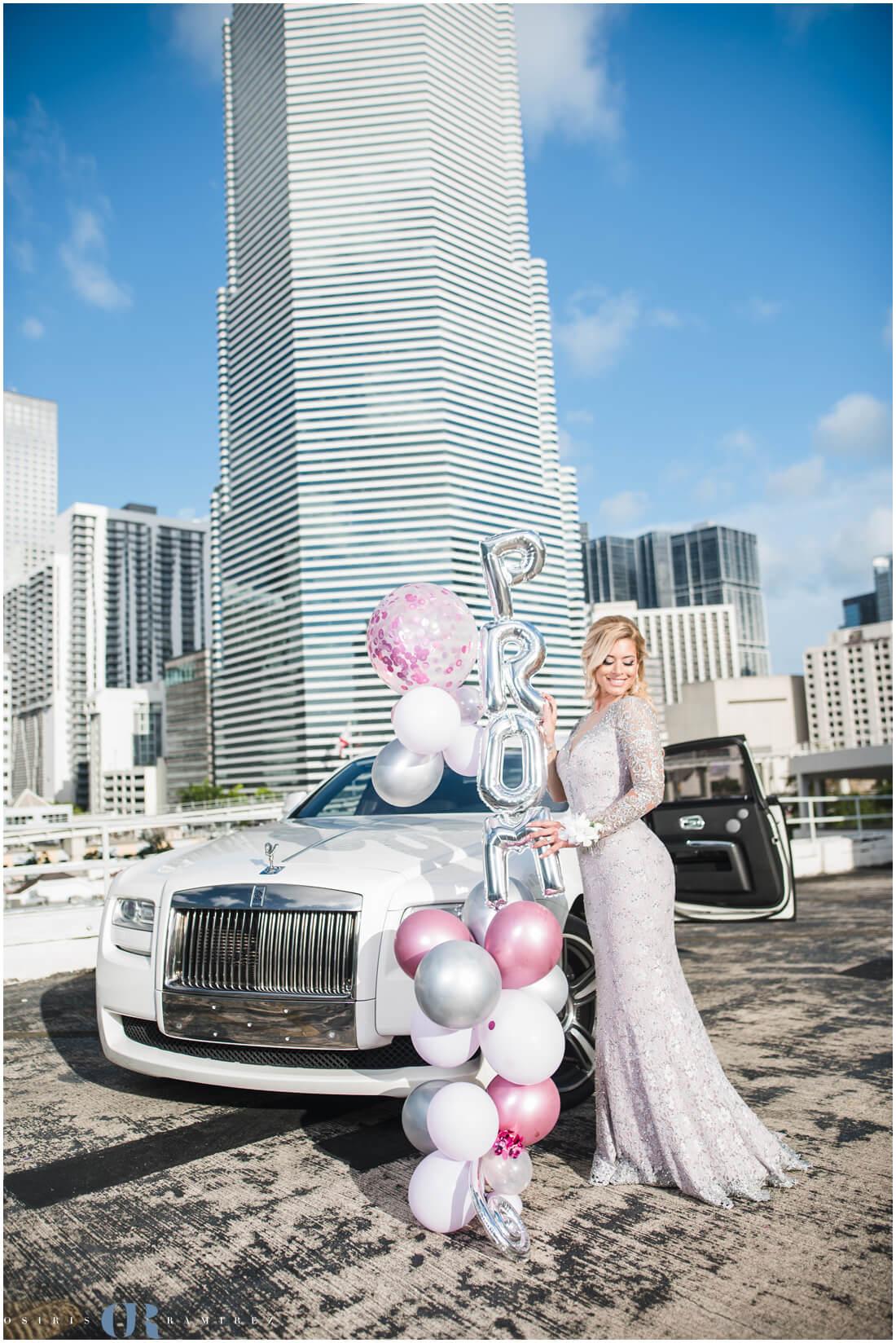 Miami Prom Photo