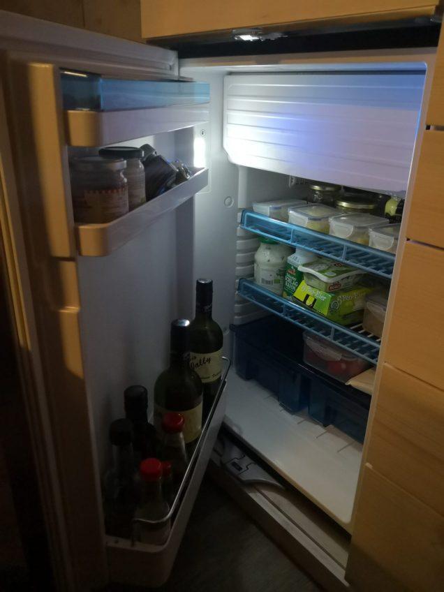 Kühlschrank kühlt...