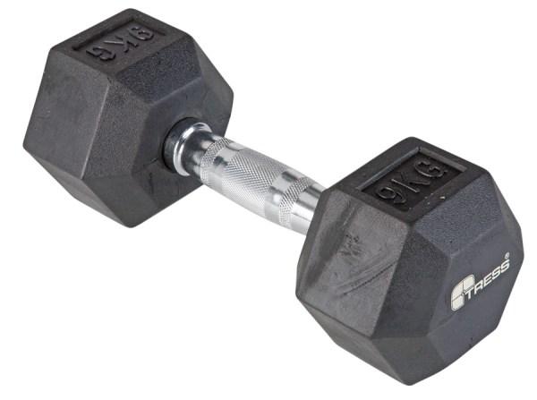Handlóð HEX 9 kg.