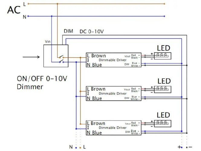led dimmer switch wiring diagram - wiring diagram,