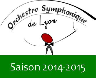 Orchestre Symphonique Lyon Saison 2014-2015