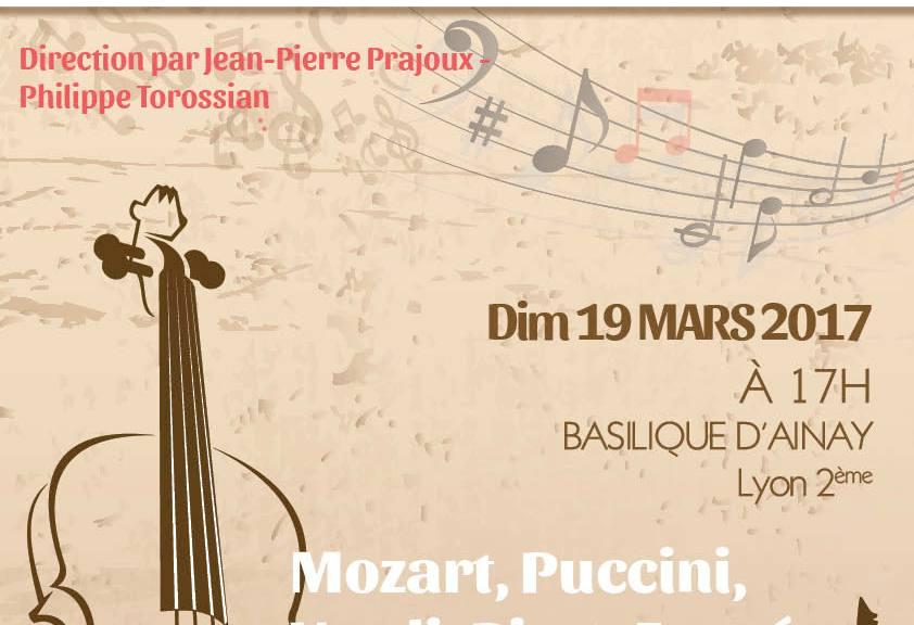 Concert OSL et La Montadour à Lyon Ainay dimanche 19 Mars