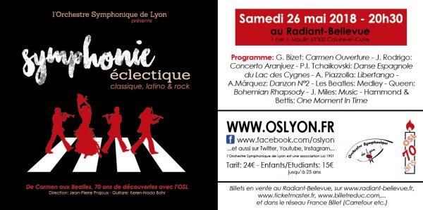 OSL Partenaires Symphonie éclectique - Orchestre Symphonique de Lyon