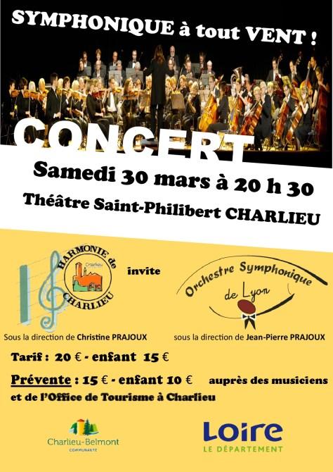 Concert OSL Charlieu 2019-03-30