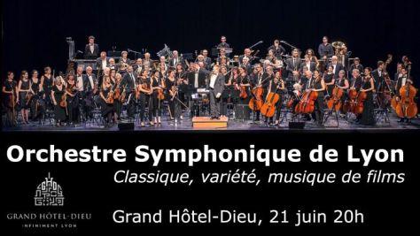 Orchestre Symphonique de Lyon - Fête de la musique 2019 au Grand Hotel Dieu