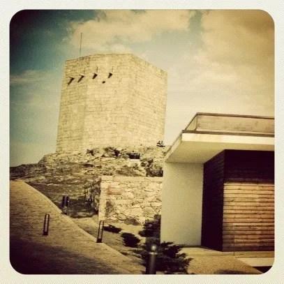 Do alto da Torre de Menagem, onde melhor se vê a Guarda!
