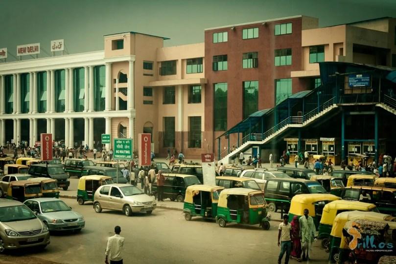 New Delhi train station
