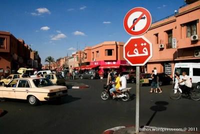 Alugar um carro em Marrocos