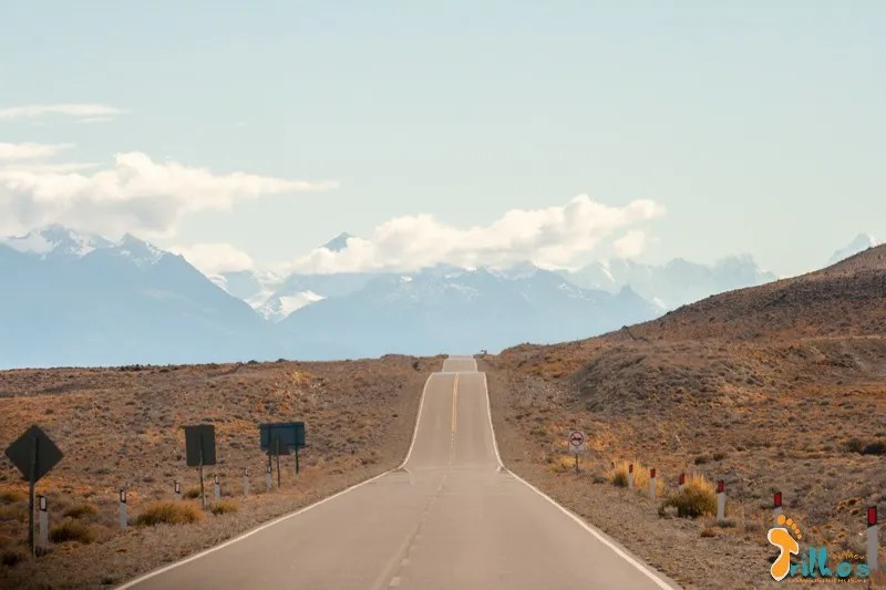 The road to El Chaltén... pAtagonia!