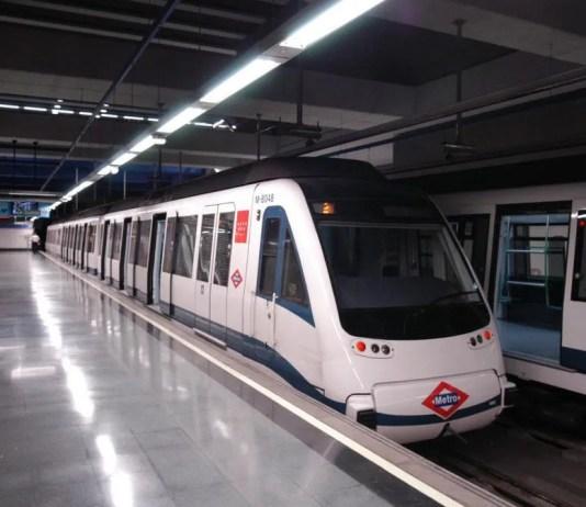 Metro até ao aeroporto de Madrid