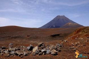 A paisagem lunar da ilha do fogo