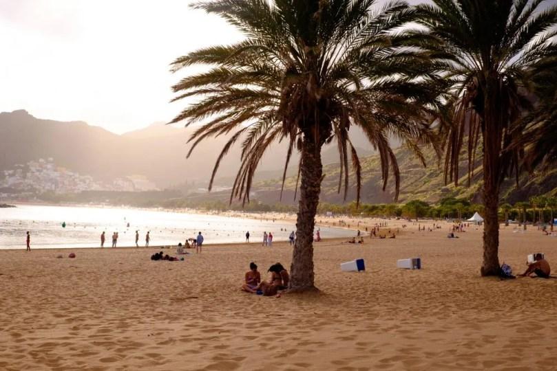 Playa de las Teresitas Tenerife OsMeusTrilhos