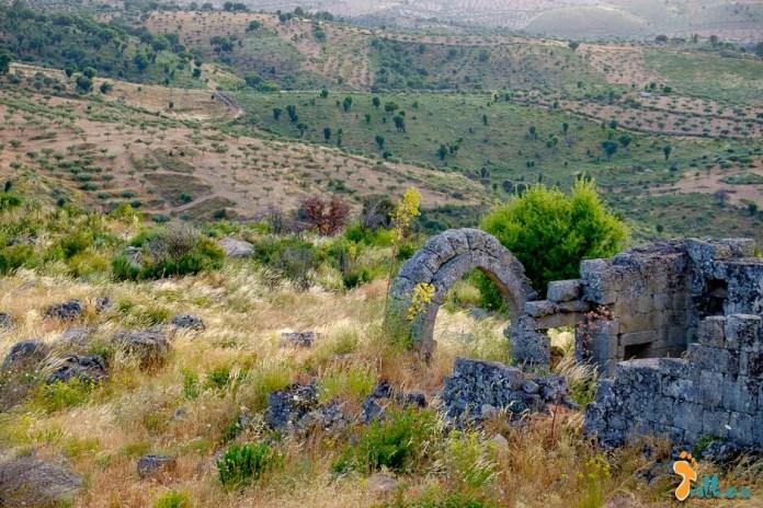 Ruínas do Bogalhal Velho, em Pinhel