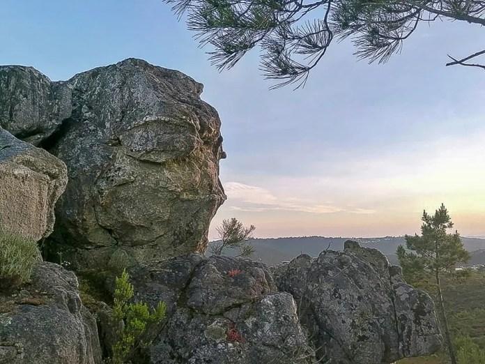 Penedros da Cabeça, em Ferreira de Aves, Sátão