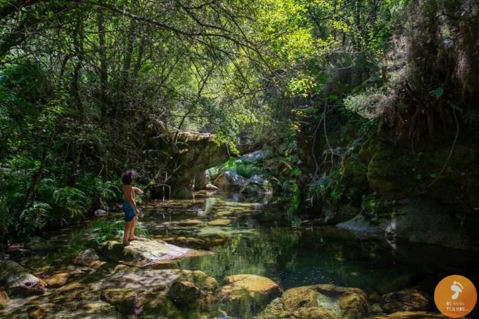 Praia Fluvial da Lapa dos Dinheiros - Seia - Praias Fluviais Serra da Estrela