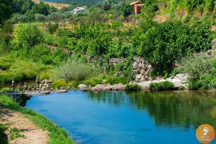 Praia Fluvial das Cortes do Meio - Poço da Ponte Velha  - Praias Fluviais na Serra da Estrela