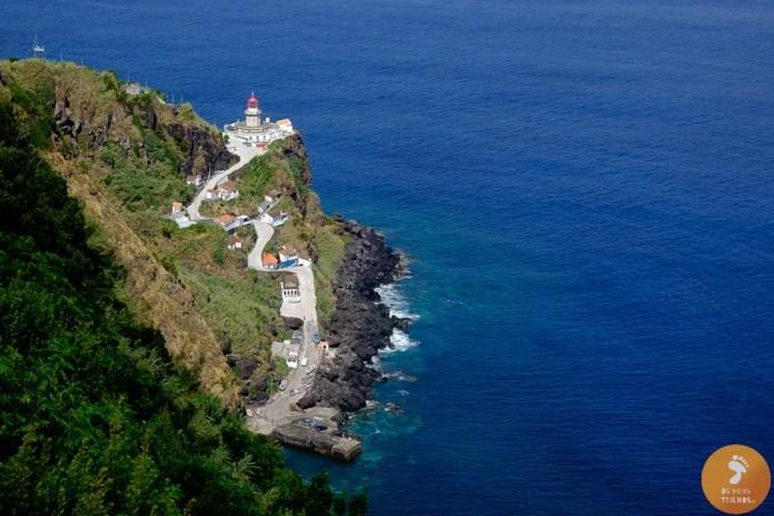 Farol da Ponta do Arnel, no Nordeste da Ilha de São Miguel