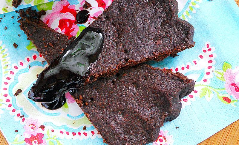 czekoladowe trójkąty kruche ciastka