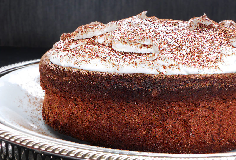 ciasto czekoladowe czekoladowa chmura bez mąki