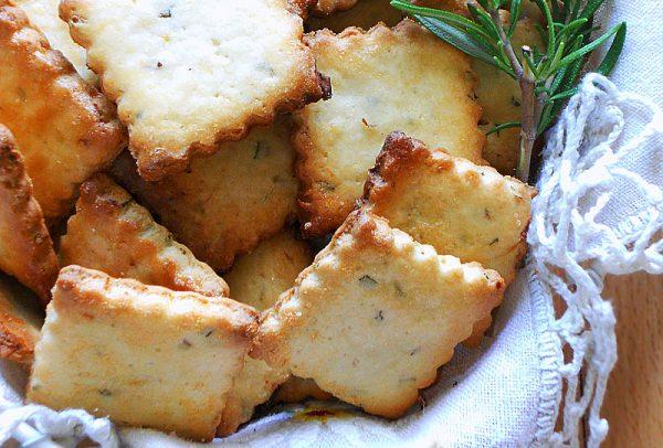 ciasteczka cytrynowe z rozmarynem