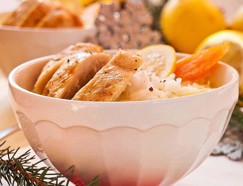 wytrawna zupa cytrynowa z kurczakiem