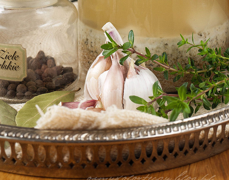 przepis na zakwas na barszcz biały żurek
